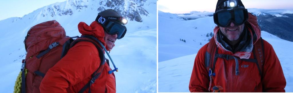 Elk Mountain Grand Traverse Chris Kopf and Rick Kopf 2011