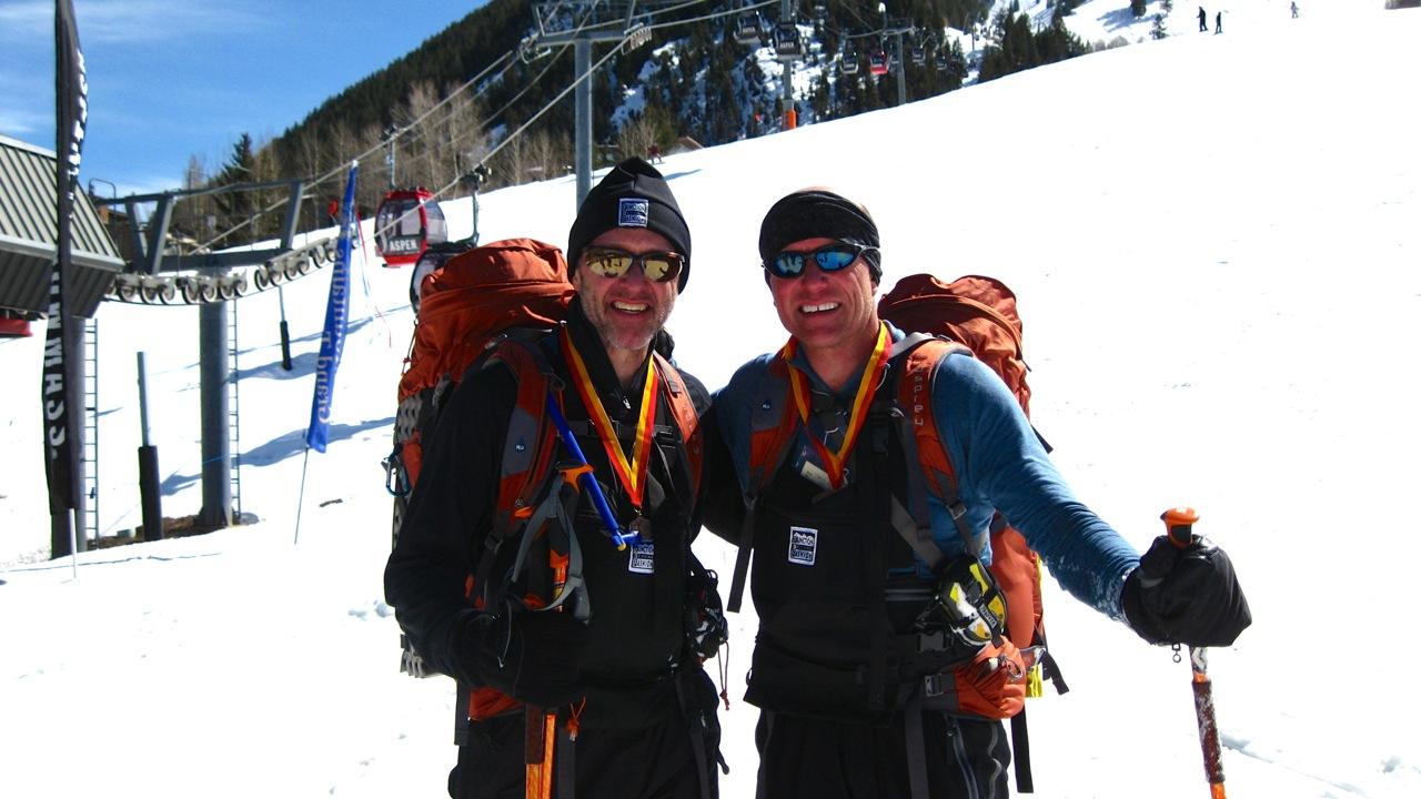 Kopf Brothers Finished Elk Mountain Grand Traverse 2011