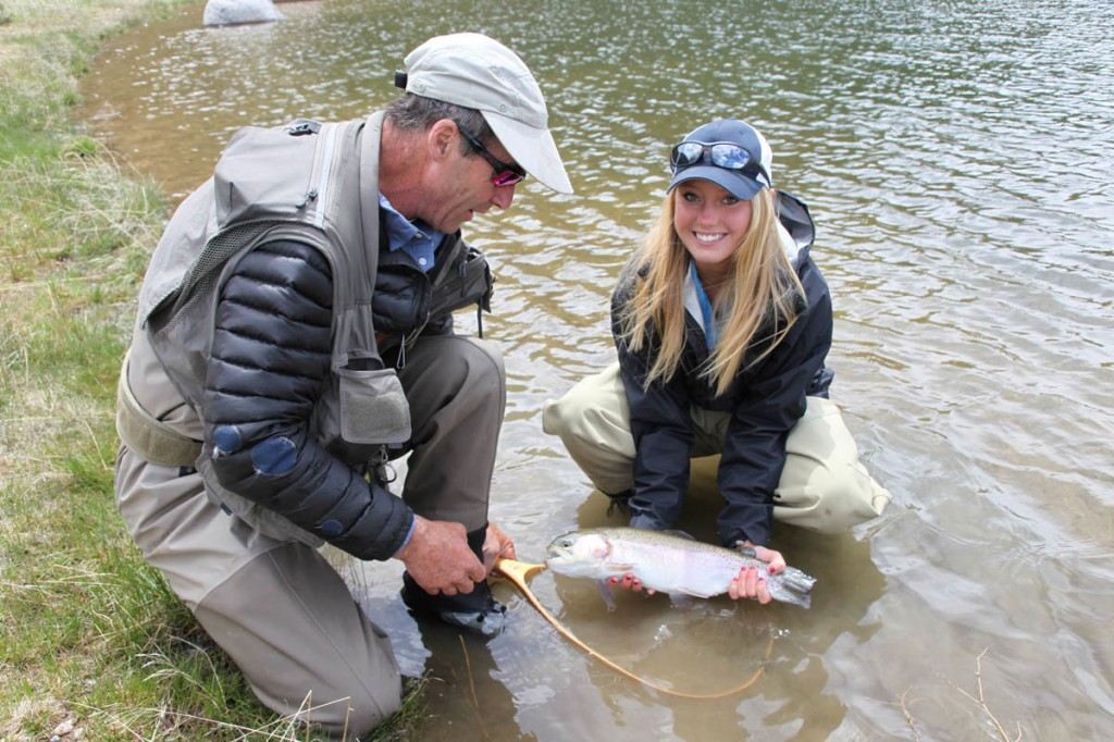 Wilder on the taylor river master fly fishing guide for Crested butte fishing