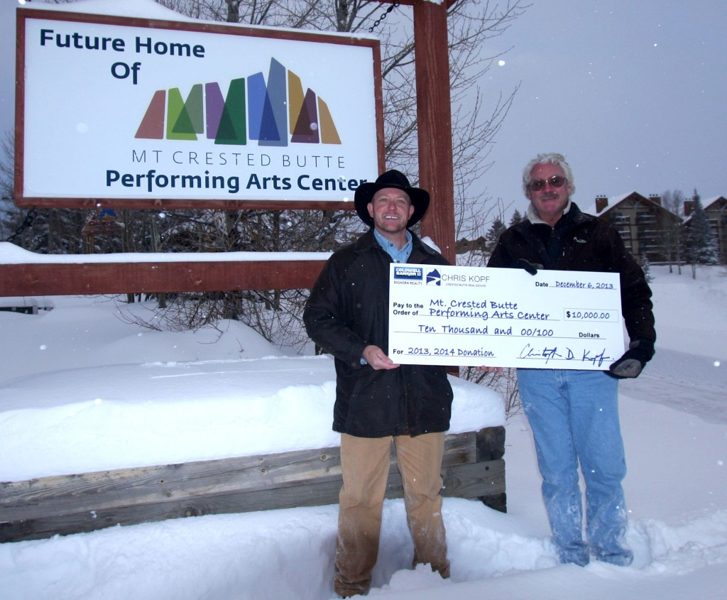 Chris Kopf Mt Crested Butte Performing Arts Center