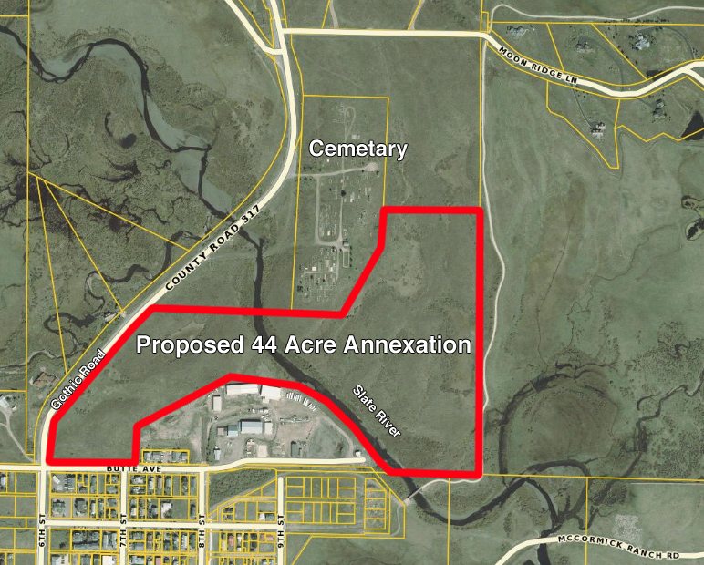 Town of Crested Butte Proposed Annexation