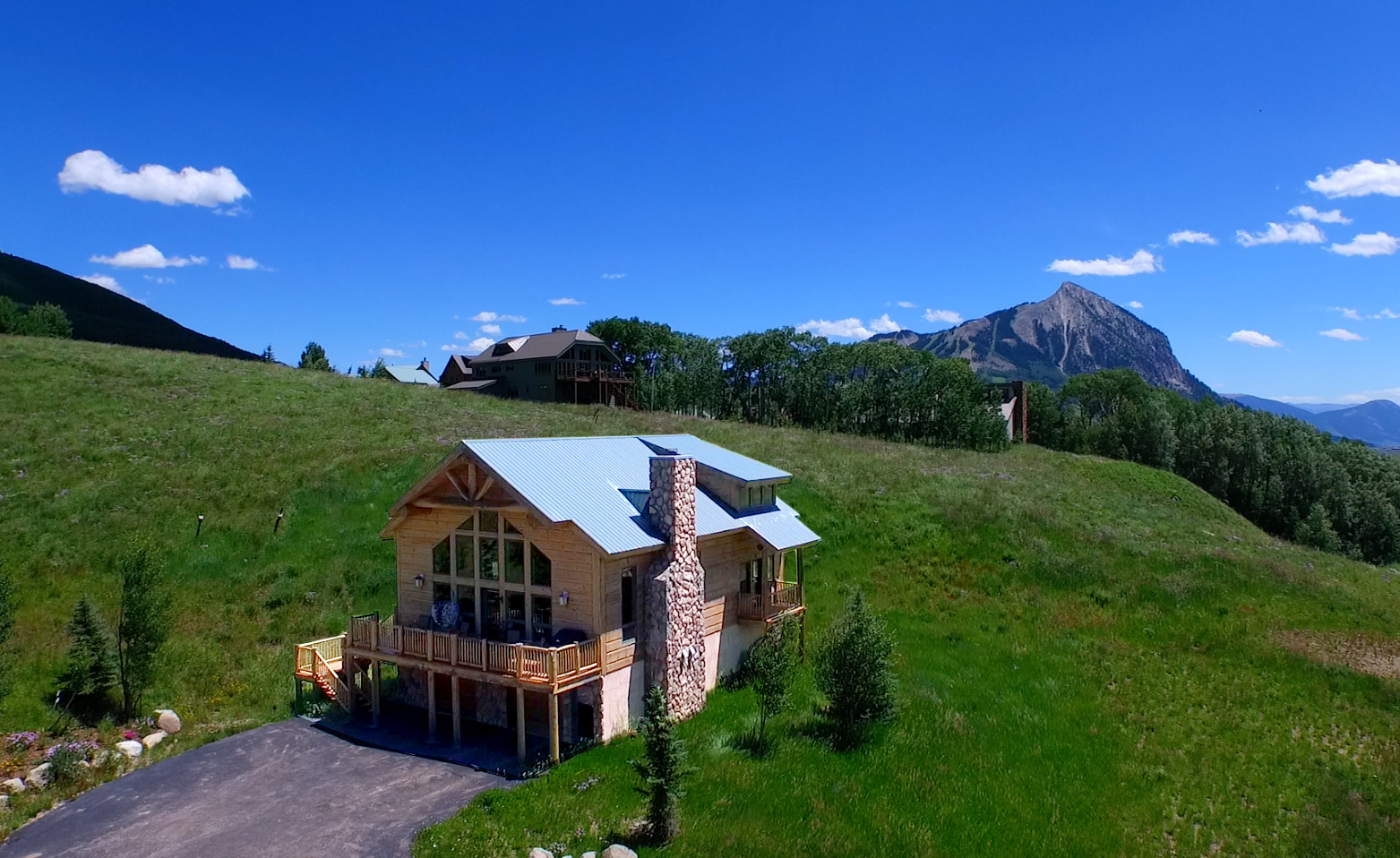 New crested butte listing meridian lake meadows home for Meadow house