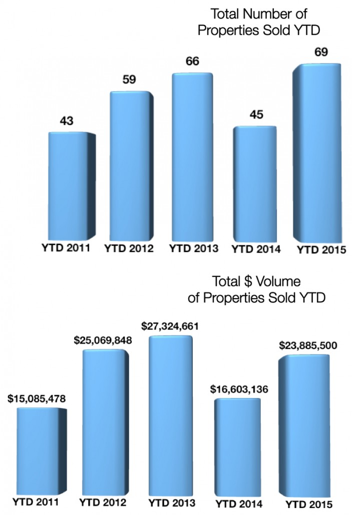 Crested Butte Real Estate Market Report YTD March 2015