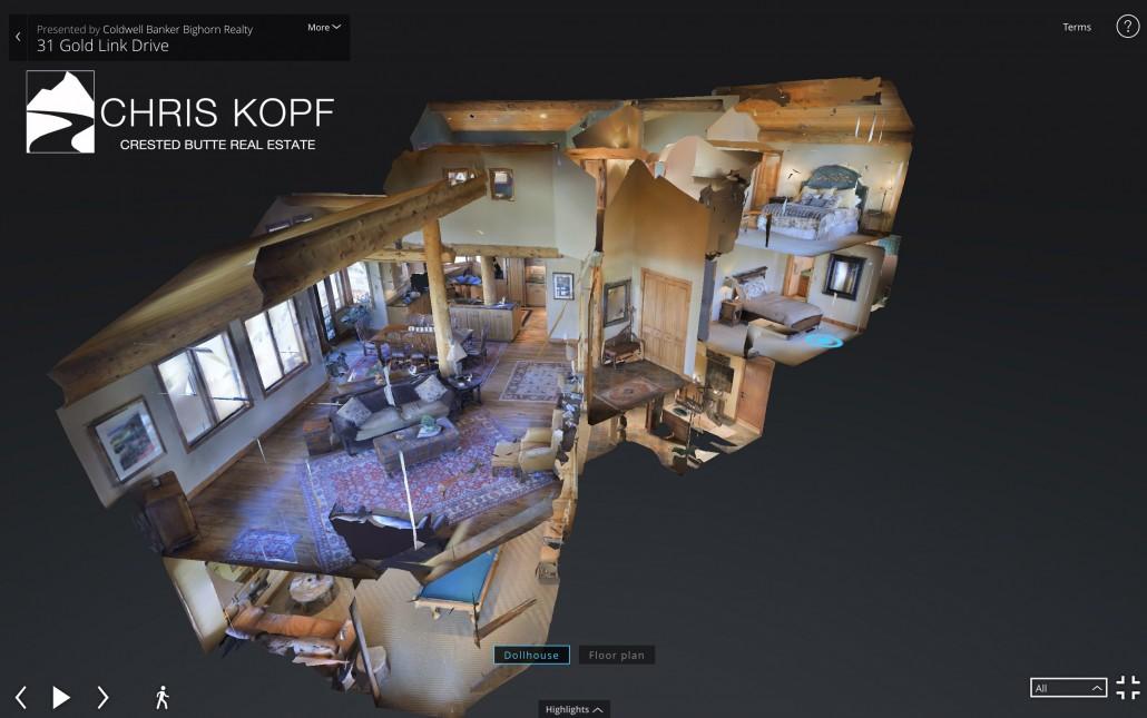 Chris Kopf 39 S Crested Butte 3d Walkthrough Home Tours