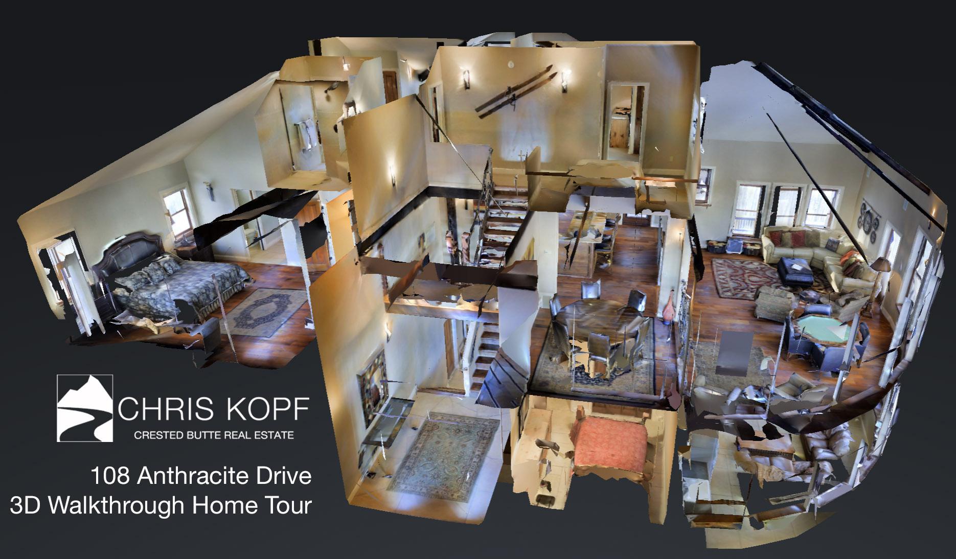 New 3d walkthrough home tour 108 anthracite drive mt for 3d house walkthrough