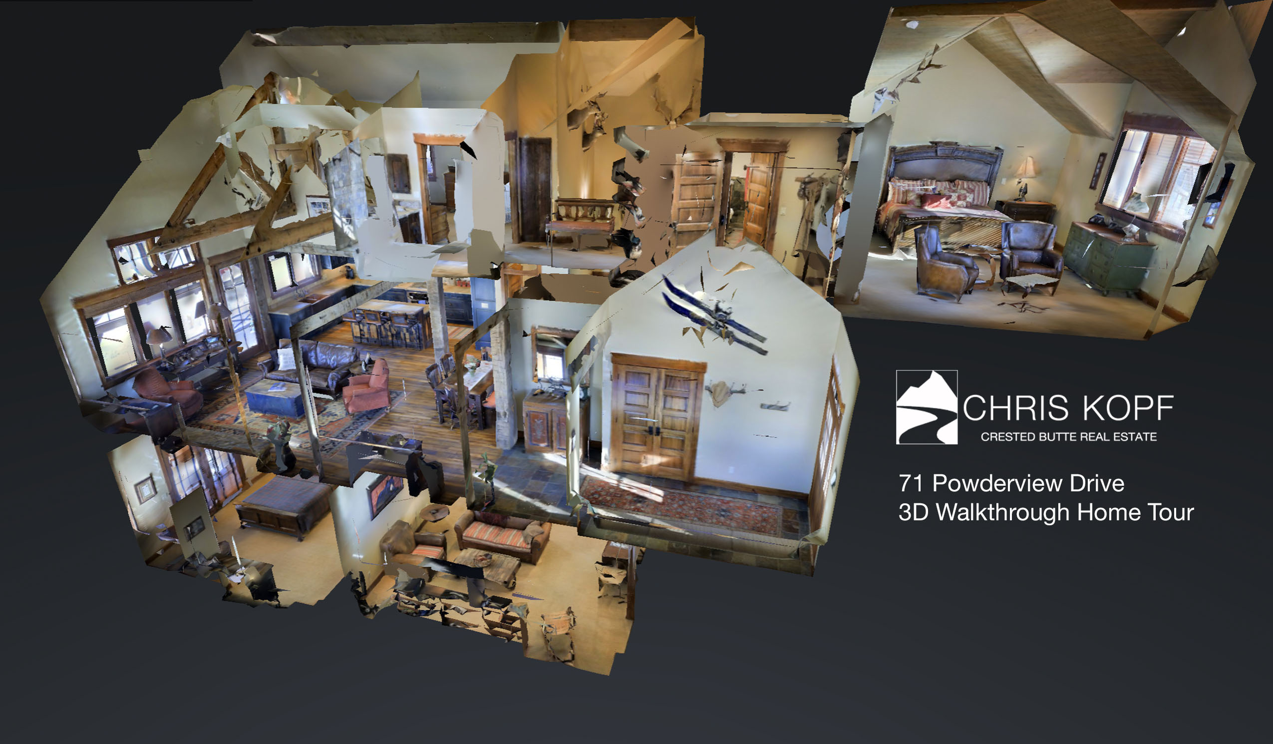 New 3d Walkthrough Home Tour 71 Powderview Drive Crested