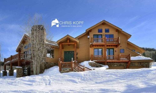 Sold Mt Crested Butte Home 31 Gold Link