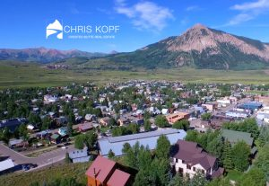 Chris Kopf Using Drone Video Crested Butte Real Estate