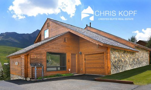 Sold Mt Crested Butte Home 205 Mineral Point