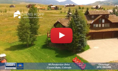 Crested Butte Home For Sale Golf Course Views