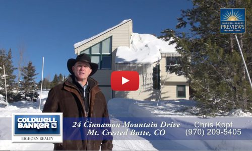 HD Video Tour 24 Cinnamon Crested Butte Home For Sale