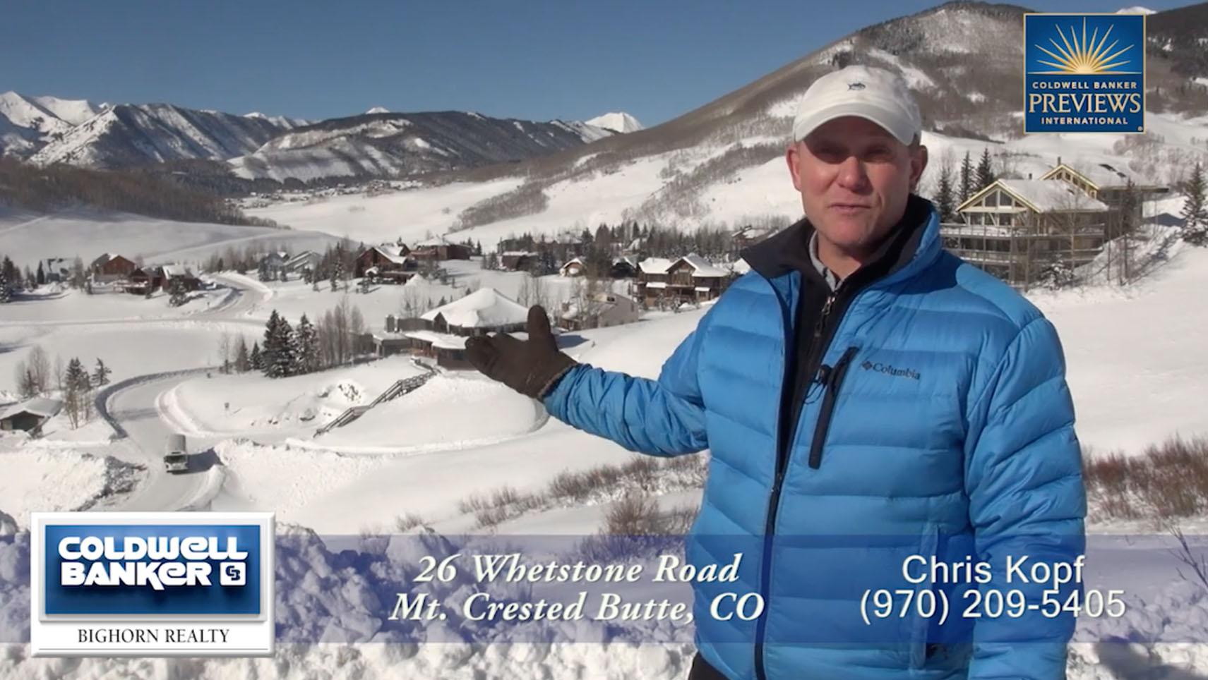 HD Video Tour 26 Whestone Crested Butte Real Estate