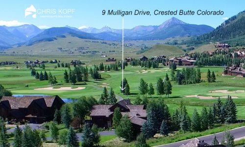 Crested Butte Home 9 Mulligan Drive Back on Market