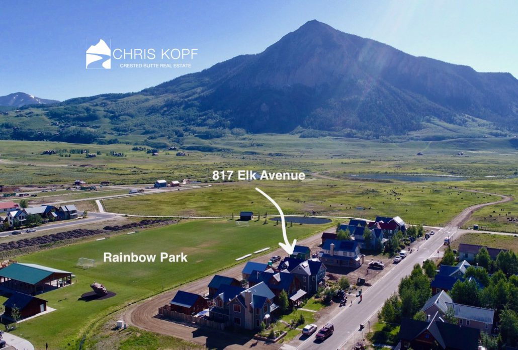 SOLD 817 Elk Avenue Downtown Crested Butte